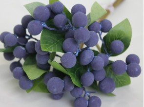Голубика связка 5 веток 26 см