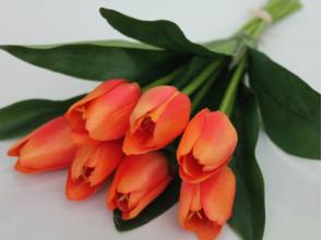 Букет тюльпанов связка 30 см