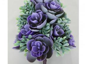 Букет каменной розы 18 см