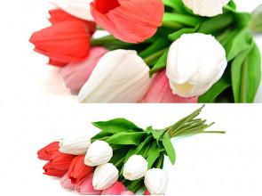 Тюльпаны латекс 50 см